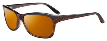 Oakley Women Confront Havanna Svart OO2024-05 Polariserade