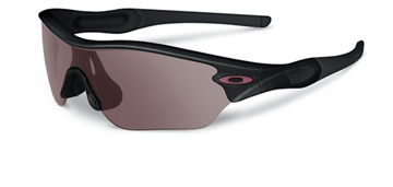 Oakley Women Radar Edge Polerad Svart oo9184-04 Polariserade