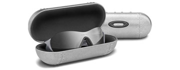 Oakley Cases Large Metal Vault Silver 07-255