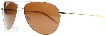 Oliver Peoples Benedict Silver 5039n9 Polariserade