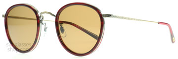 Oliver Peoples MP-2 Röd Havana 512190 Polariserade