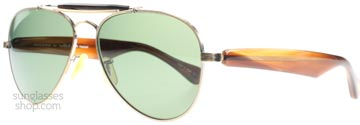 Oliver Peoples The Soloist Teardrop Silver och Havana 5039p1