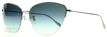Oliver Peoples Kiley Svart Krom med Pacific Gradient 513111 61
