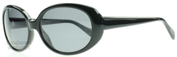 Oliver Peoples Alyssia Svart 100581 Polariserade