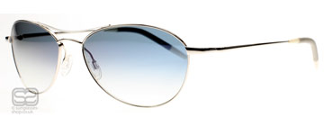 Oliver Peoples Aero 57 Silver 0235