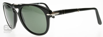 Persol 0714 Polerad Svart 95/31 Large (54mm)