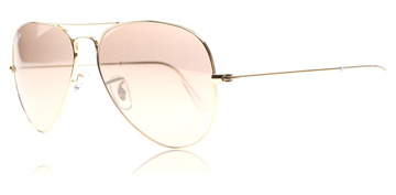 Ray-Ban 3025 Aviator Guld 001/3E Small 55mm