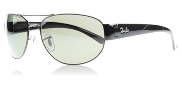 Ray-Ban 3448 Svart 002/58 Polariserade 60mm