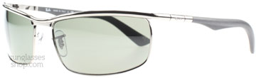 Ray-Ban 3459 Stålgrå 004/58 Polariserade 62mm