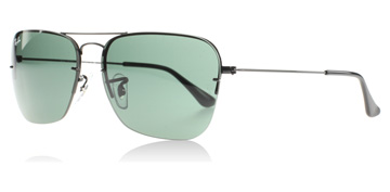 Ray-Ban Caravan Flip Out Svart 002/71 Polariserade