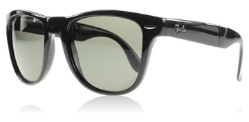 Ray-Ban Folding Wayfarer Svart 601/58 Polariserade