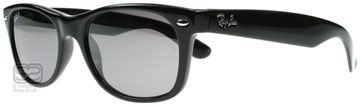Ray-Ban 2132 Wayfarer Svart 601/K3 Polariserade Large (55mm)