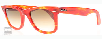 Ray-Ban 2140 Wayfarer Orange 104351 50mm
