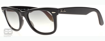 Ray-Ban 2140 Wayfarer Svart 901/32 47mm (Small)