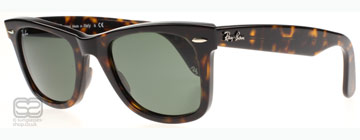 Ray-Ban 2140 Wayfarer Sköldpaddsmönster 902 50 mm (Medium)
