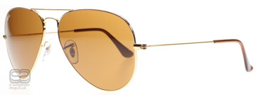 Ray-Ban 3025 Aviator Guld 001/33 Small 55mm