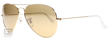 Ray-Ban 3025 Aviator Arista 001/3K Medium 58mm
