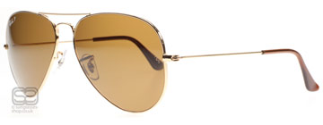 Ray-Ban 3025 Aviator Arista 001/57 Polariserade Large 62mm