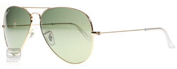 Ray-Ban 3025 Aviator Polerad Guld 001/M4 Polariserade 62mm