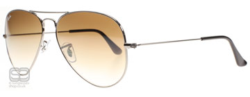 Ray-Ban 3025 Aviator Stålgrå 004/51 Large 62mm