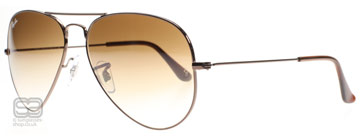 Ray-Ban 3025 Aviator Brun 014/51 Medium 58mm