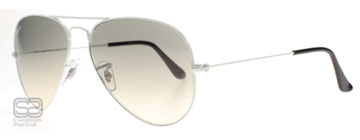 Ray-Ban 3025 Aviator Vit 032/32 Medium 58mm