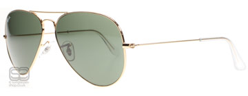 Ray-Ban 3025 Aviator Gold L0205