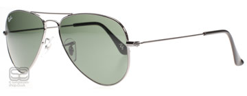Ray-Ban 3044 Small Aviator Stålgrå W3100