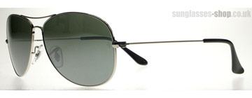 Ray-Ban Cockpit Polerad Silver 003/40 Large (59mm)