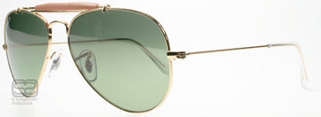 Ray-Ban Outdoorsman II Guld 001/M4 Polariserade Large (58mm)