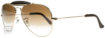 Ray-Ban Outdoorsman Craft Collection Arista 001/51 55mm
