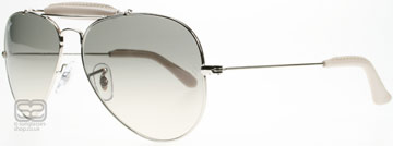 Ray-Ban Outdoorsman Craft Collection Silver 003/32 Small (55mm)