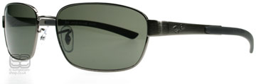 Ray-Ban 3430 Stålgrå 004/58 Polariserade 59mm