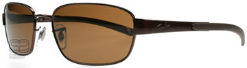 Ray-Ban 3430 Brun 014/57 Polariserade 56mm