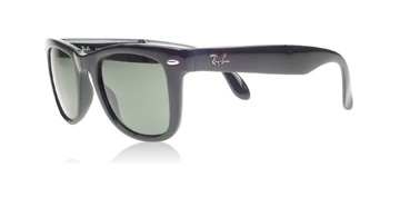 Ray-Ban Folding Wayfarer Svart 601 54mm