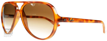 Ray-Ban CATS 5000 Orange Sköldpaddsmönster 803/51
