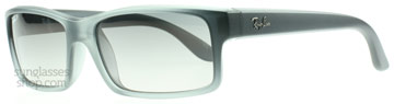 Ray-Ban 4151 Transparent Grå 893/M3 Polariserade