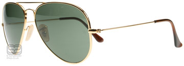 Ray-Ban 8041 Aviator Titanium Arista 001 58mm