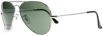 Ray-Ban 8041 Aviator Titanium Titan 086 55mm
