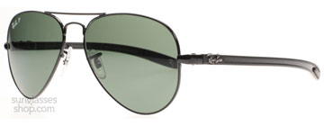 Ray-Ban 8307 Stålgrå 002/N5 Polariserade 58mm