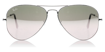 Ray-Ban 3025 Aviator Silver Mirror W3277