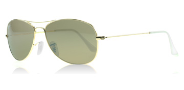 Ray-Ban Cockpit Guld 001 Small 56mm