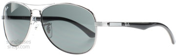 Ray-Ban Junior 9529 Silver Svart 200/87 53mm