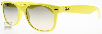 Ray-Ban 2132 Wayfarer Fluorescerande Gul 754/32 Large 55mm