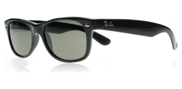 Ray-Ban 2132 Wayfarer Svart 901/58 Polariserade Small 52mm