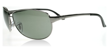 Ray-Ban 3342 Warrior Stålgrå 004/58 Polariserade Small 60mm