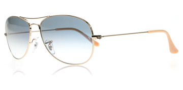 Ray-Ban Cockpit Ljus Guld 001/3F Large 59mm