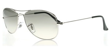 Ray-Ban Cockpit Silver 003/32 Large 59mm