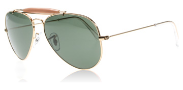Ray-Ban Outdoorsman II Arista Guld 001 Large (58mm)