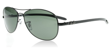 Ray-Ban 8301 Carbon Fibre Svart 002 59mm Medium